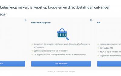 Hoe maak je een PayPro betaalpagina aan voor op je website?