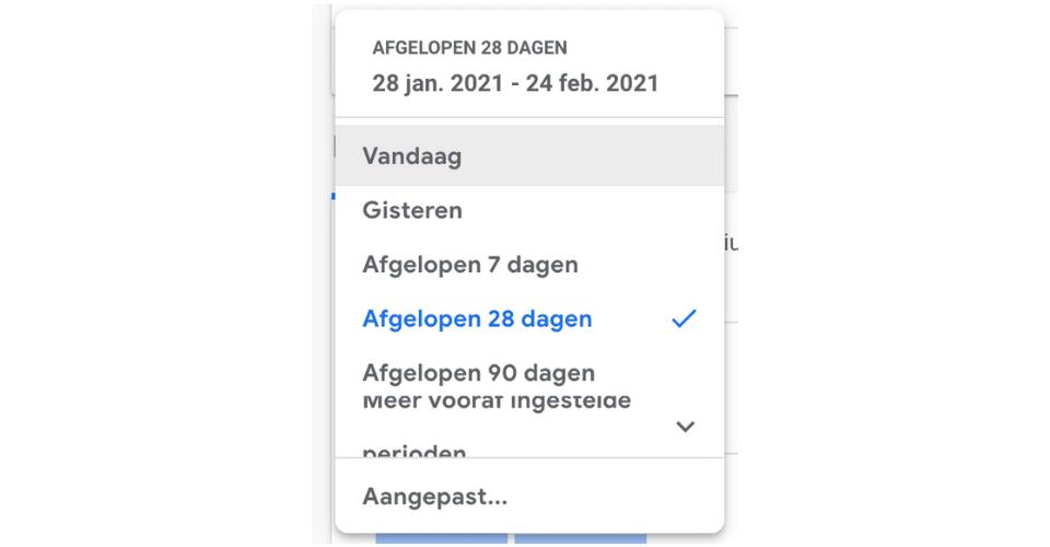 Google Analytics manier van werken